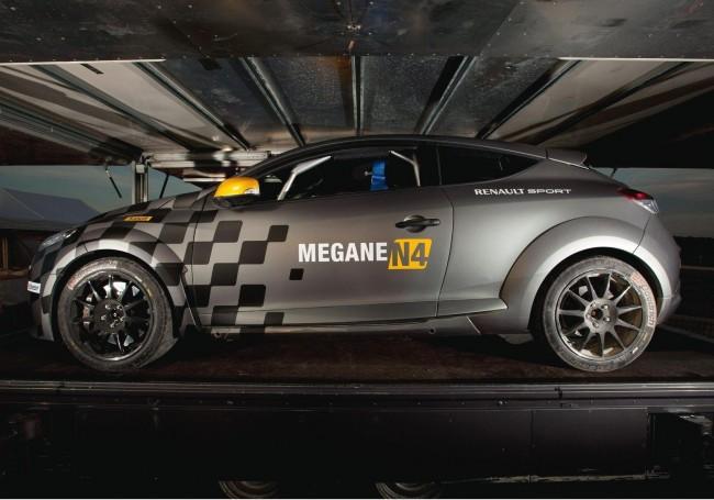 Renault представила раллийный Megane RS N4