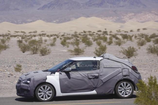 Шпионские фото Hyundai Veloster