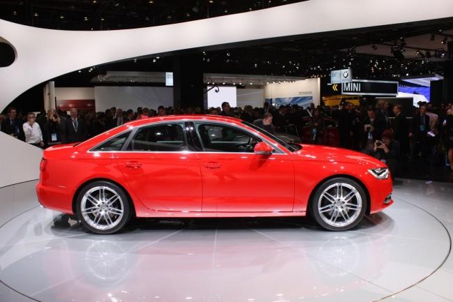 Новую Audi A6 показали в Америке