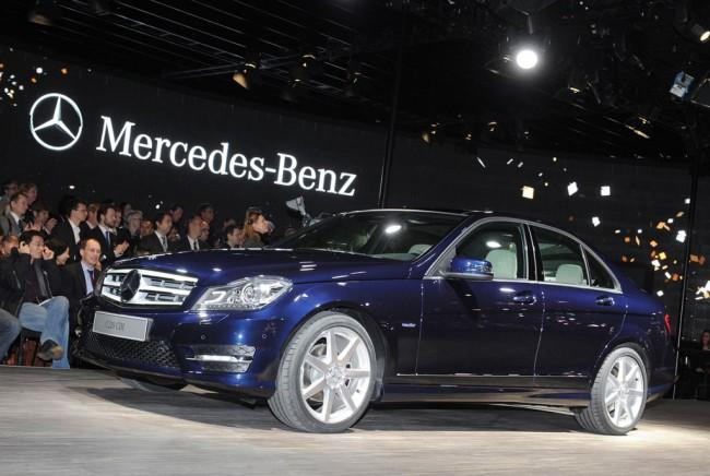 Mercedes привез в Детройт обновленный C-class