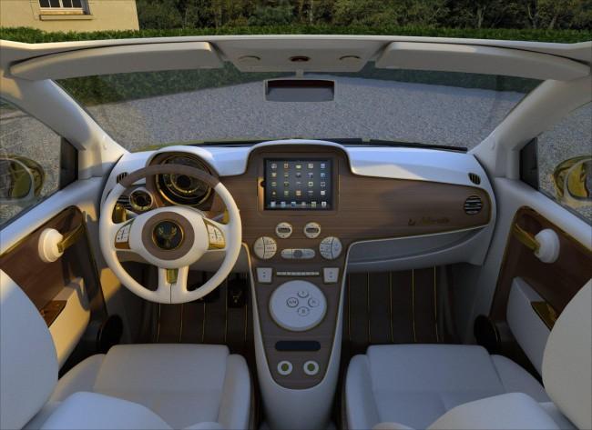 Ipad Supreme Edition в салоне Fiat 500C за 500 000 евро