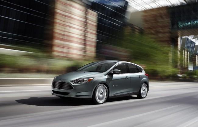 Ford представил электрический Focus Electric