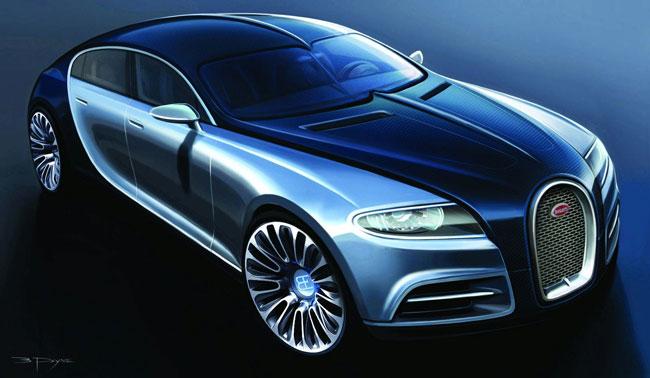 Новый седан Bugatti будет построен на базе Audi A8