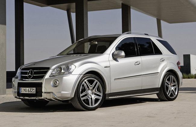 Выпуск нынешнего Mercedes ML63 AMG прекращен