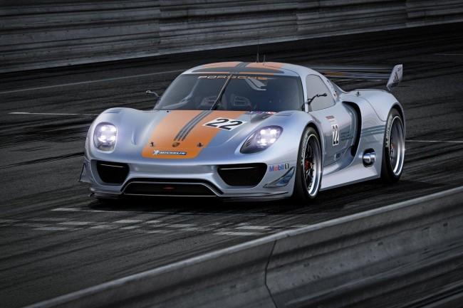 Porsche 918 RSR Coupe для 24-часовой гонке в Ле-Мане