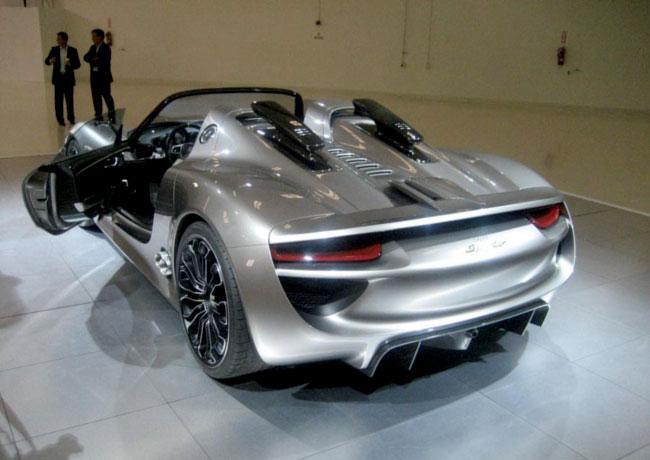 Porsche 918 пойдет в серию с кузовом Spyder