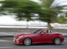 Фото нового Mercedes SLK 3 поколения