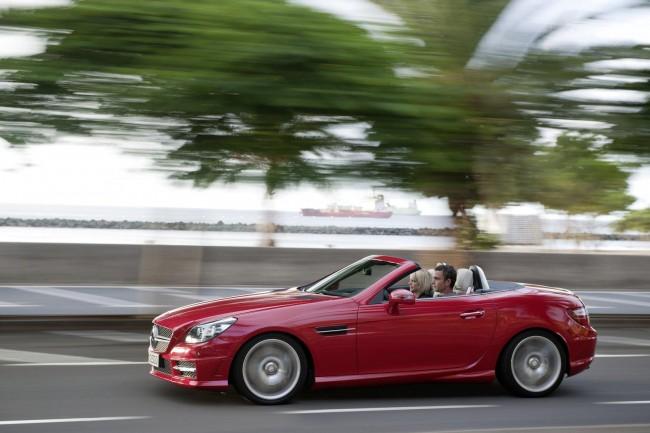 Новый Mercedes SLK R172