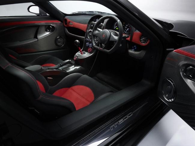 Интерьер суперкара Noble M600