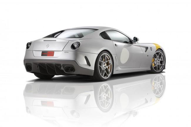 Ferrari 599 GTO от тюнинг ателье Novitec Rosso
