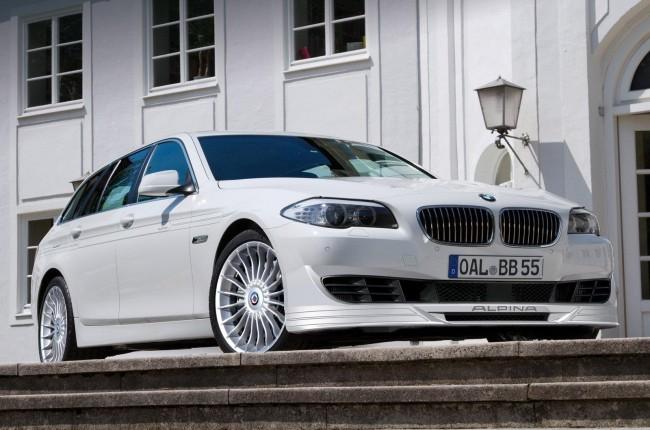Тюнеры из Alpina зарядили универсал BMW 5-серии
