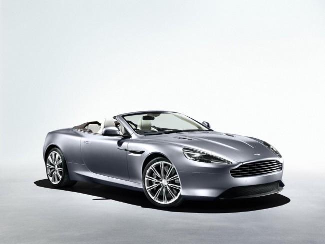 Фото кабриолета Aston Martin Virage