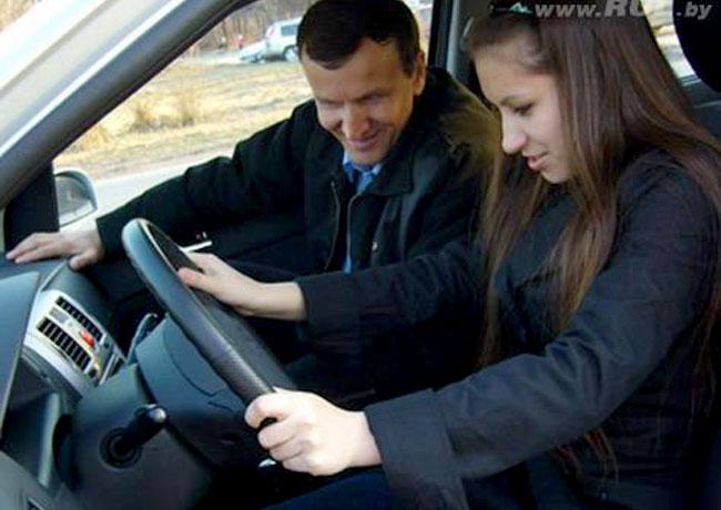 Обучение вождению с частным инструктором