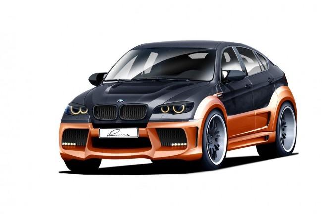 В ателье Lumma готовят CLR X 650 на базе BMW X6