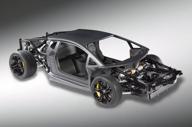 Фото шасси Lamborghini Aventador LP700-4