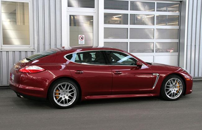 В Porsche решили растянуть хэтчбек Panamera