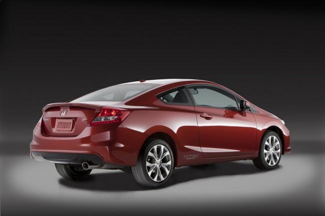 Новая Хонда Цивик Si купе 2012