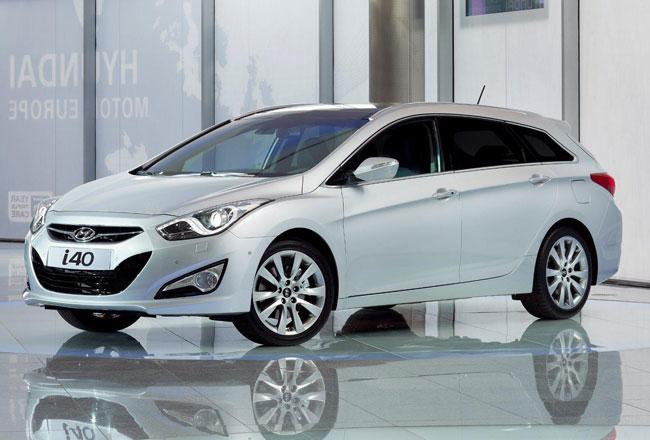 Первые фото универсала Hyundai i40