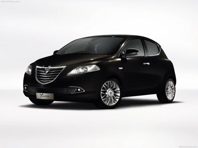 Опубликованы фото новой Lancia Ypsilon 2012
