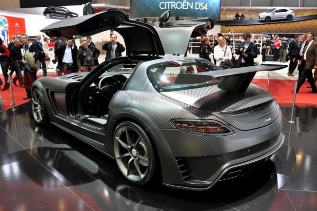 Тюнинг суперкара Mercedes SLS AMG от ателье Mansory