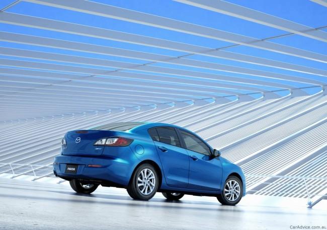 Мазда готовит обновленную Mazda3 2012