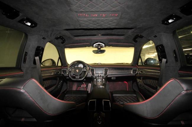Тюнинг салона Porsche Panamera 4S