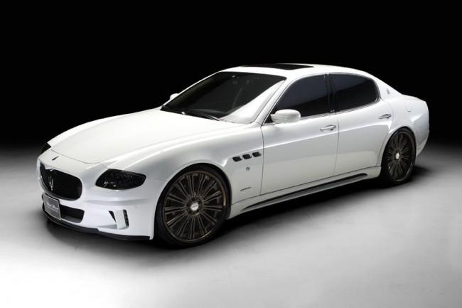 Black Bison доступен теперь и для Maserati Quattroporte