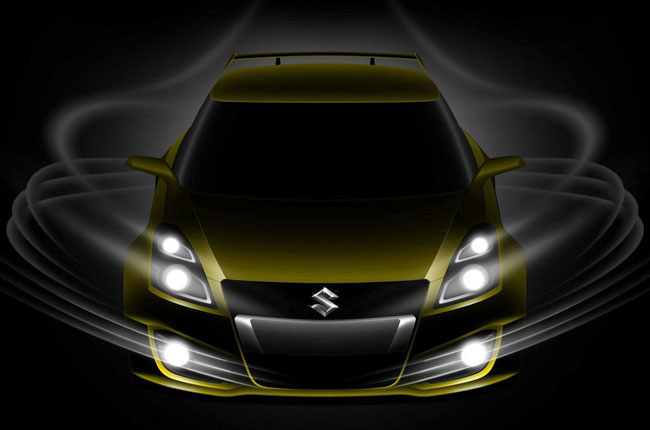 Тизер Suzuki Swift S-Concept
