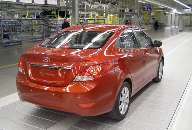 Мощность российского завода Hyundai планируют увеличить