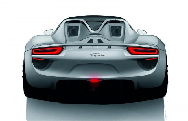Porsche начала прием заказов на гибрид 918 Spyder