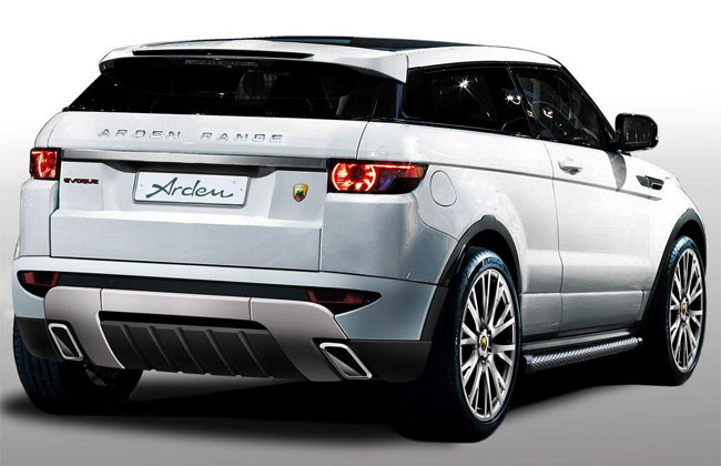 Range Rover Evoque AR8 City-Roader