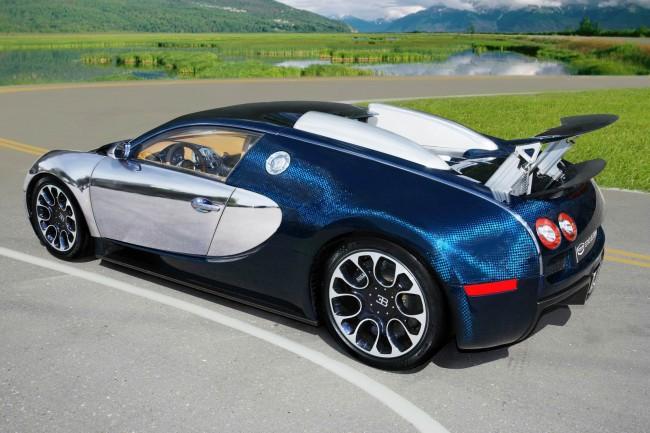 Тюнинг Bugatti Veyron от российского ателье Status Design