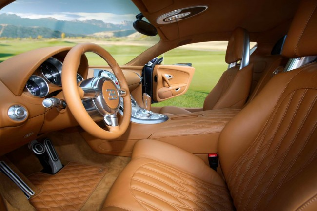 Тюнинг салона Bugatti Veyron