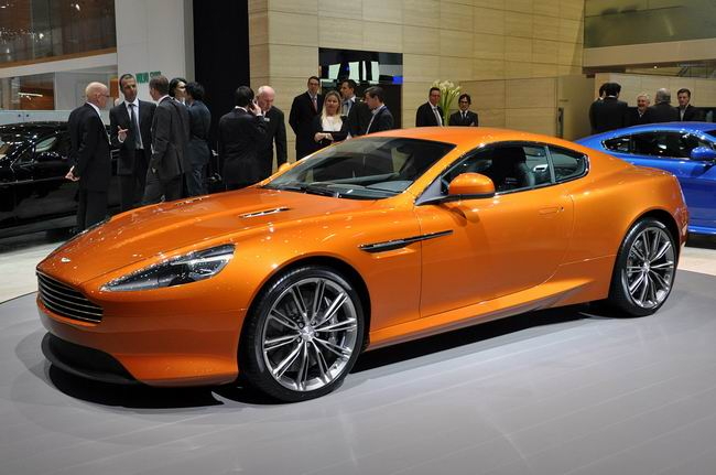 Aston Martin Virage на Женевском автосалоне 2011