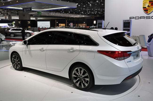 Hyundai i40 на Женевском автосалоне 2011