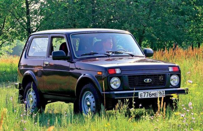 Lada 4x4 пользуется в Европе наибольшим спросом