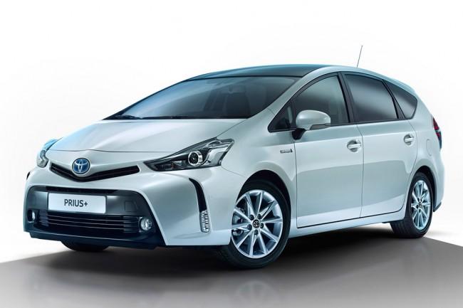 Обновленная Toyota Prius Plus 2015