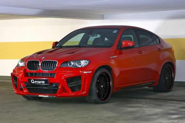 BMW X6 M получил пакет TYPHOON S от G-POWER