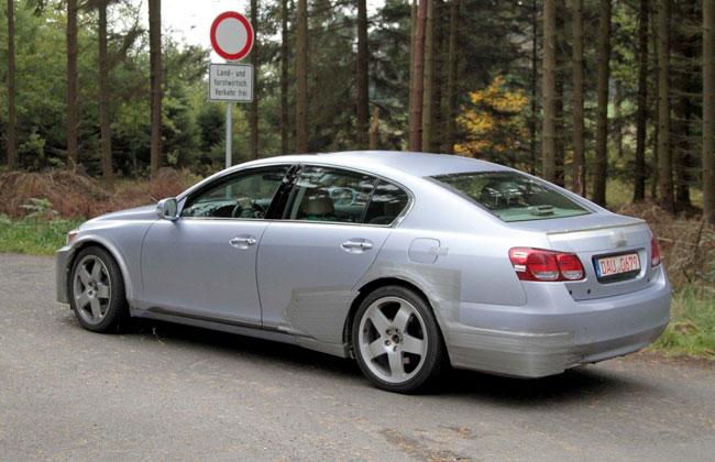 Шпионское фото нового 2012 Lexus GS