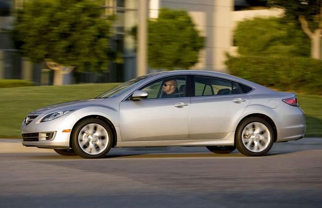 Пауки стали причиной отзыва Mazda6 в Северной Америке