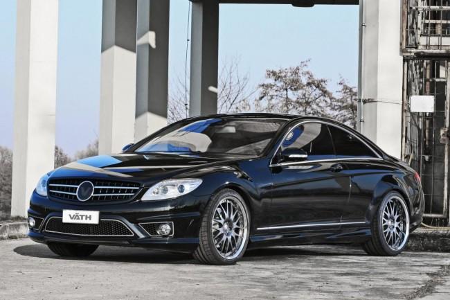 Тюнинг Mercedes CL 500 от VATH Performance
