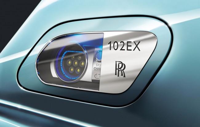 Розетка для зарядки Rolls-Royce 102EX