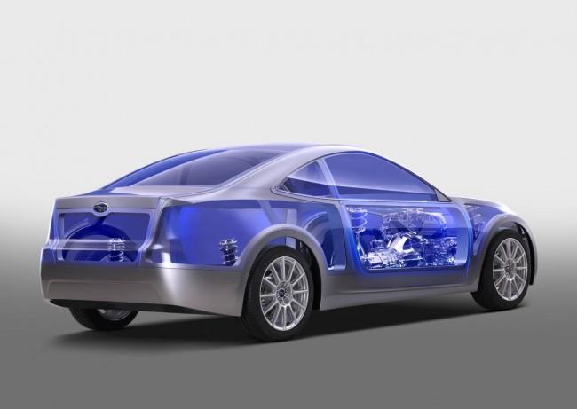Subaru пока ограничилась прозрачным концептом
