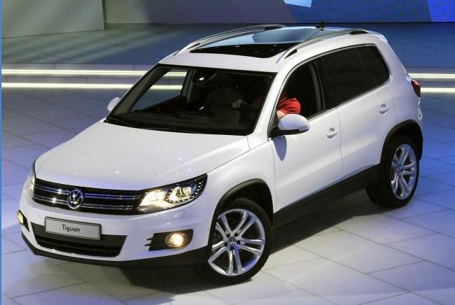 В Женеве показали обновленный VW Tiguan