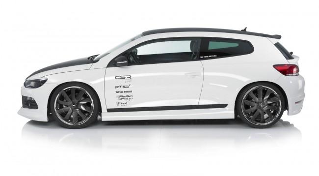 Volkswagen Scirocco получил обвес от CSR Automotive