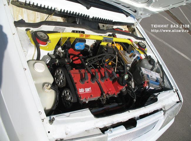 2108 тюнинг двигателя