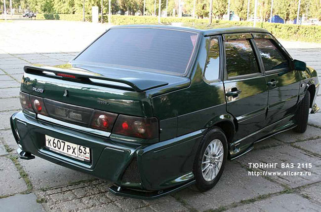 Тюнинг авто 2115