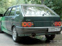 Тюнинг задних фонарей 2109