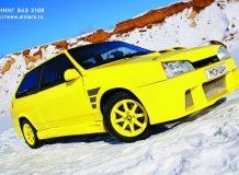 ВАЗ 2108 желтая