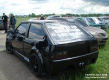 Черный ВАЗ 2108 тюнинг